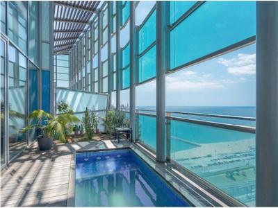 Loft/Duplex for sales at Luxury duplex penthouse in the exclusive Illa del Mar in Diagonal Mar park Barcelona  Barcelona City, Barcelona 08014 Espagne