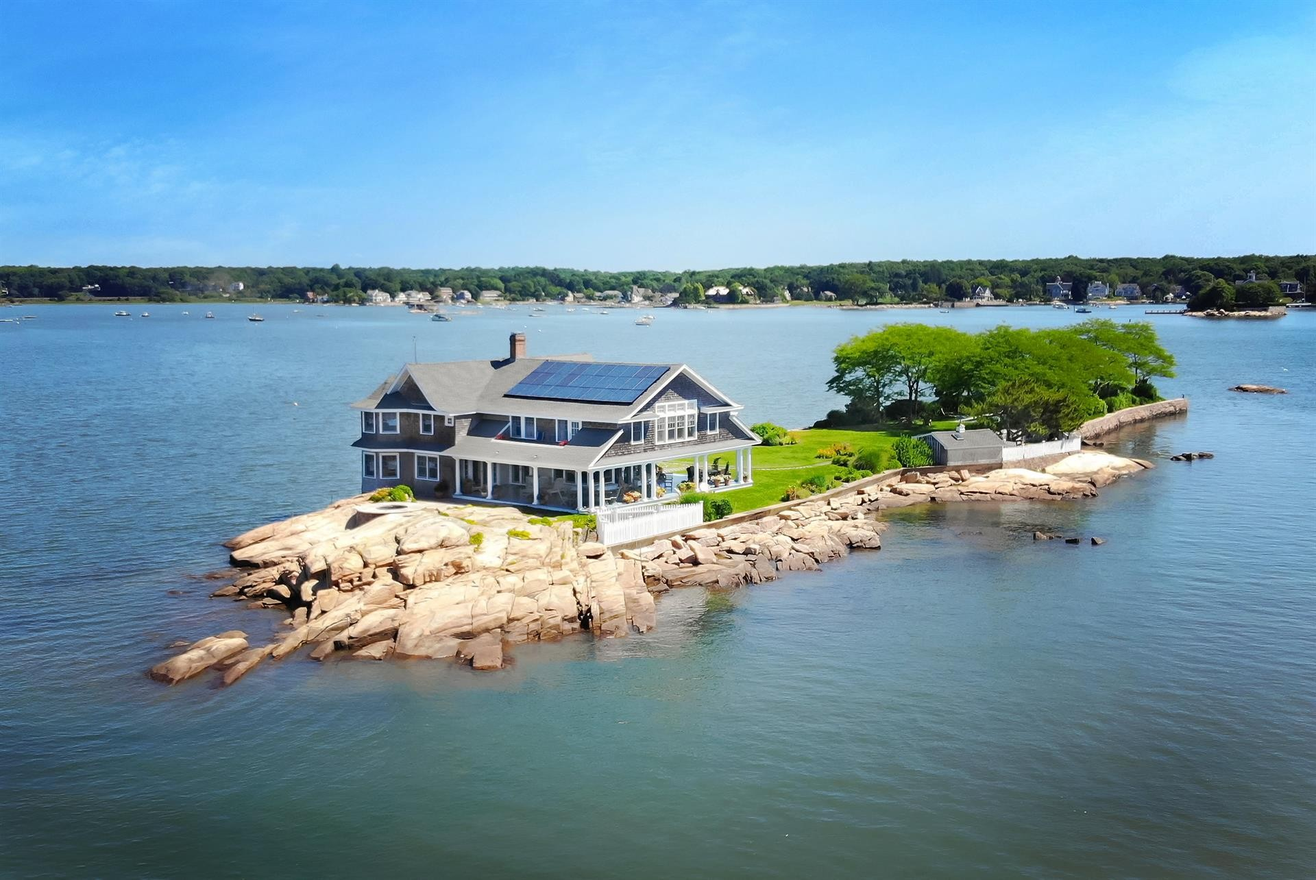 potato island, private retreat in the thimble islands a luxury private island for sale in branford, connecticut property id 170067461 christie s international real estate
