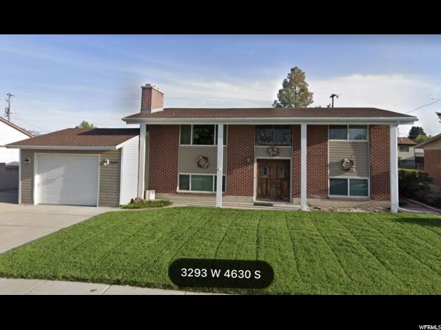 3293 W 4630 S West Valley City Utah 84119 Single Family For Sale