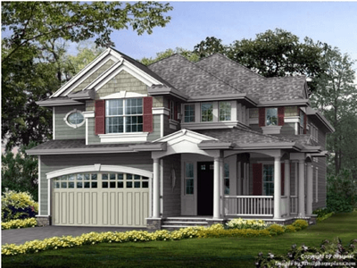 Single Family for sales at Classic Homes Of Maryland - Custom Build On Your Lot (Bethes - The Charlotte  Bethesda, Maryland 20817 United States