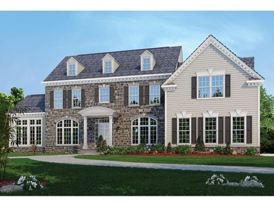 Single Family for sales at Classic Homes Of Maryland - Custom Build On Your Lot (Bethes - The Hampton  Bethesda, Maryland 20817 United States