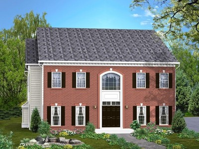 Single Family for sales at Classic Homes Of Maryland - Custom Build On Your Lot (Bethes - The Danbury  Bethesda, Maryland 20817 United States