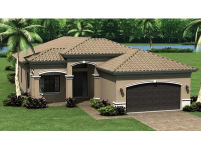 Single Family for sales at Riverstone - Burgundy 3621 Santaren Court Naples, Florida 34119 United States