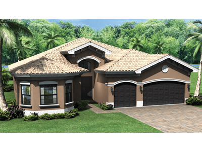 Single Family for sales at Riverstone - Biltmore 3621 Santaren Court Naples, Florida 34119 United States