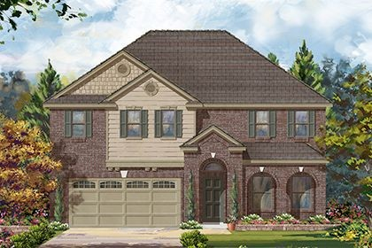 Single Family for sales at Briscoe Falls Preserve - Plan 3028 Modeled 25115 Easton Ramsey Way Richmond, Texas 77406 United States