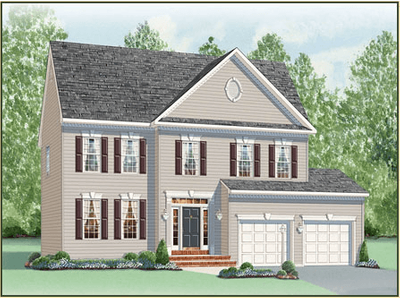 Single Family for sales at Turnbury Run - The Danbury Disney Rd. & Stanley Ln. Severn, Maryland 21144 United States