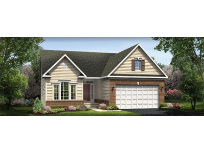 Single Family for sales at Westridge - Legacy Collection - Brentwood 24983 Great Berkhamsted Drive Aldie Va 20105 Aldie, Virginia 20105 United States