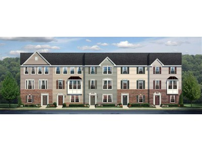 Multi Family for sales at Clarksburg Village Townhomes - Strauss Two Car Garage 11897 Country Squire Way Clarksburg, Maryland 20871 United States