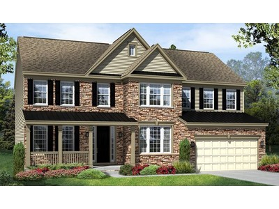 Single Family for sales at Briarfield Estates - Amherst 23997 Bishop Meade Place Ashburn, Virginia 20148 United States