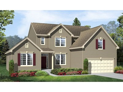 Single Family for sales at Briarfield Estates - Jessica 23997 Bishop Meade Place Ashburn, Virginia 20148 United States