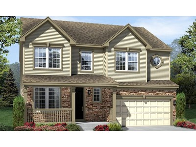 Single Family for sales at The Meadows At Hope Hill Crossing - Twain 5564 Barnes Lane Woodbridge, Virginia 22193 United States