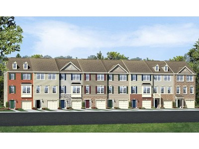 Single Family for sales at Belmont Estates Townes - Kyla 20490 Corder Place Ashburn, Virginia 20147 United States