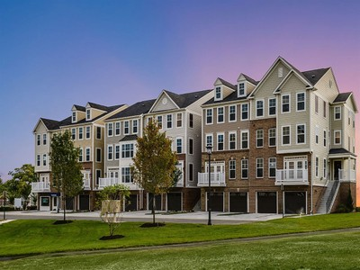 Multi Family for sales at East Gate Back To Back Townhomes - Brighton Ii 25253 Laureldale Terrace Chantilly, Virginia 20152 United States