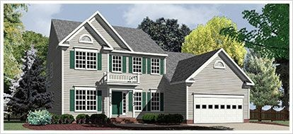 Single Family for sales at Mount Hope Estates - The Mclean 220 Mount Hope Church Rd Stafford, Virginia 22554 United States