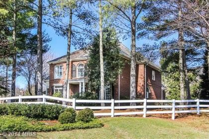Single Family Home for sales at 9101 TOWN GATE LN  Bethesda, Maryland,20817 United States