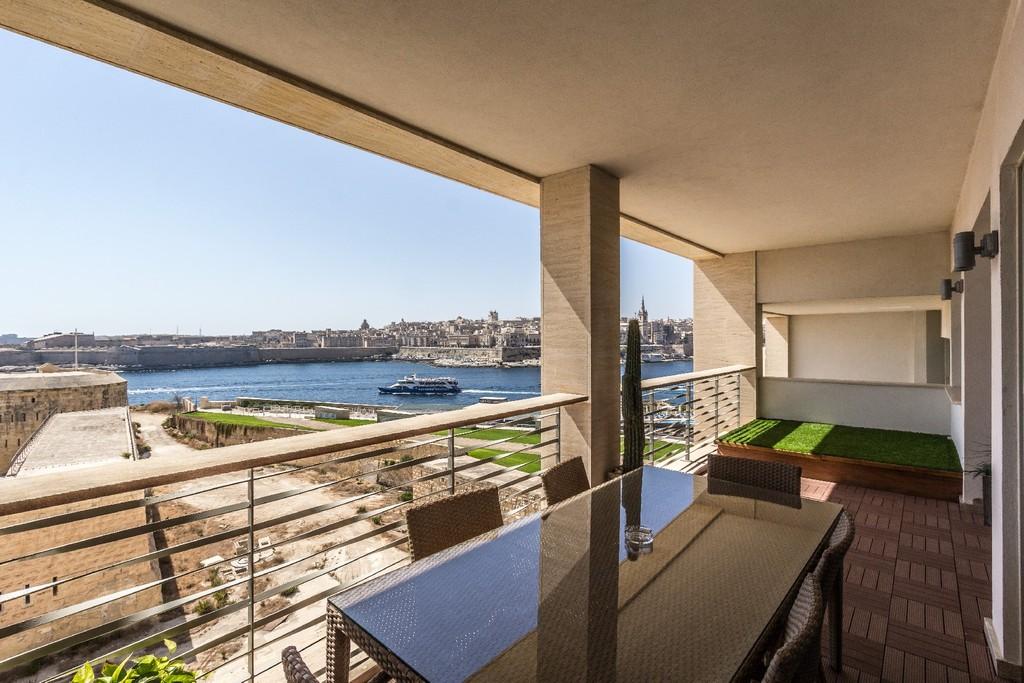 Apartment For Rent At Seafront Tigne Point Sliema Malta