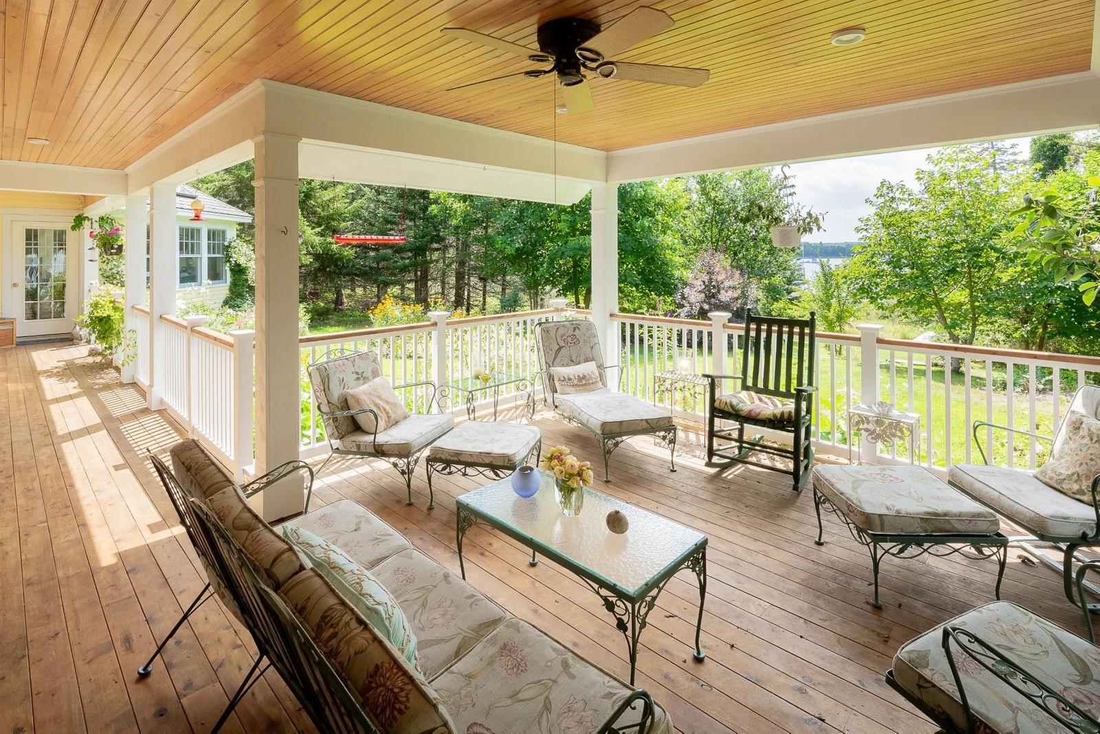 Single Family Homes for Sale at 134 Big Tree Lane Islesboro, Maine 04848 United States