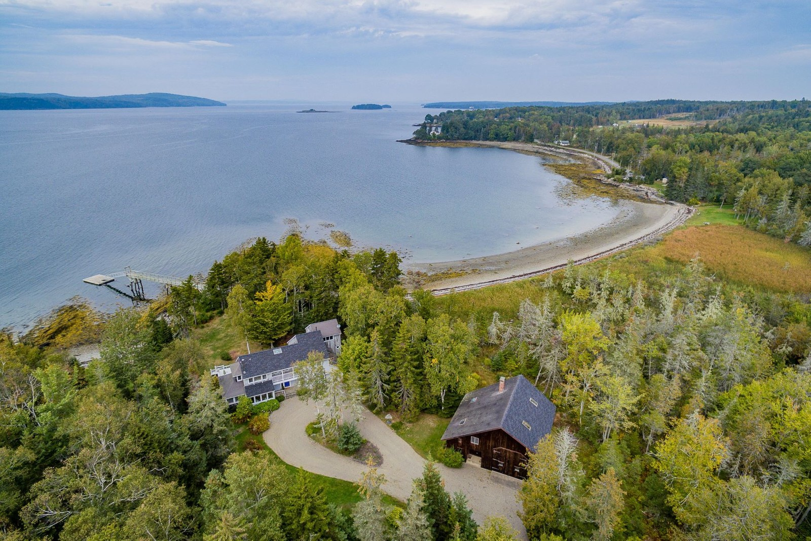 Single Family Homes for Sale at 435 Ferry Road Islesboro, Maine 04848 United States