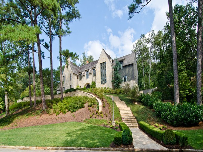 Single Family Home for sales at Magnificent Custom Built European Masterpiece 435 King Road NW Atlanta, Georgia 30342 United States