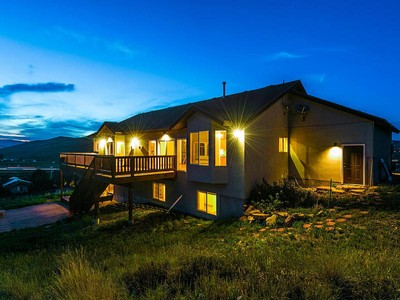 Nhà ở một gia đình for sales at Unrivaled Views on Open Space off Old Ranch Road 165 W Ridge Crest Dr  Park City, Utah 84098 Hoa Kỳ