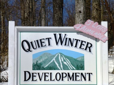Land for sales at Quiet Winter Development Lot 4 Quiet Winter Road Dover, Vermont 05356 United States