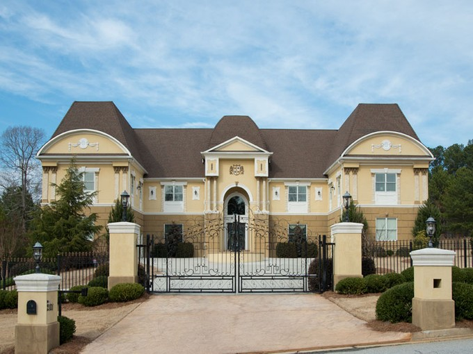 Single Family Home for sales at Exquisite Country Estate 2101 Adel Drive Loganville, Georgia 30052 United States