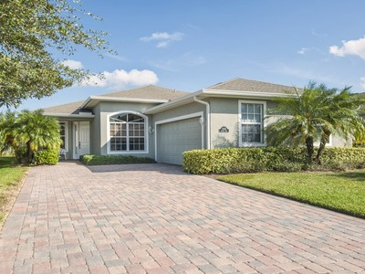 Single Family Home for sales at Home in Anthem Lake at Trillium 3235 Anthem Way   Vero Beach, Florida 32966 United States