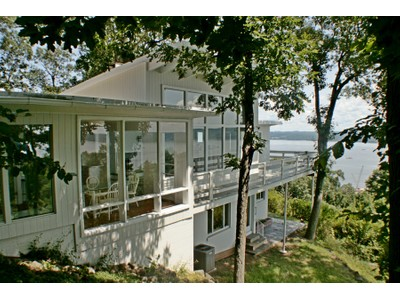 Single Family Home for sales at Sleek, Modern & River Views 5 Tweed Blvd. Upper Grandview, New York 10960 United States