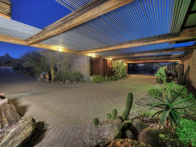 Villa for sales at Contemporary Estate Situated On Nearly 10 Acres Of Tranquil Sonoran Desert 9701 E Happy Valley Rd #24  Scottsdale, Arizona 85255 Stati Uniti