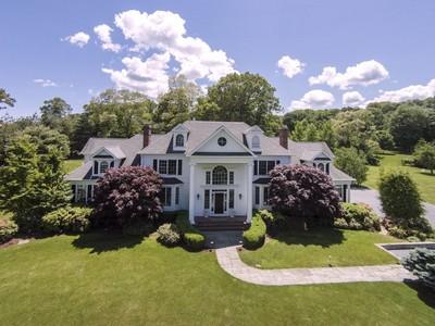 Moradia for sales at Stunning Colonial 49 Winterberry Road Deep River, Connecticut 06417 Estados Unidos