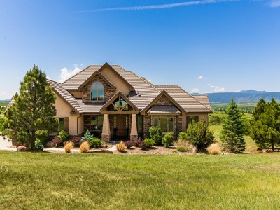 Single Family Home for sales at 3225 Elk Canyon Circle  Sedalia, Colorado 80135 United States
