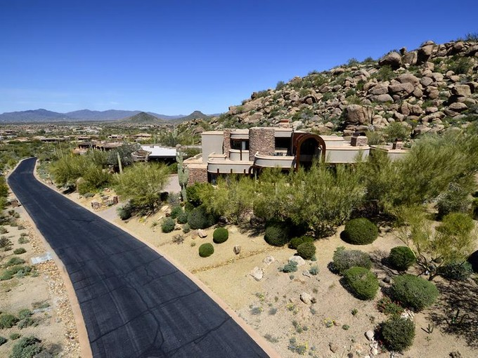 Single Family Home for sales at Contemporary Design in Estancia 27807 N 103rd Place Scottsdale, Arizona 85262 United States