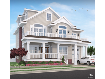 Single Family Home for sales at - 2 S Manor Longport, New Jersey 08403 United States