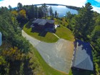 Single Family Home for  sales at Camp Y Knott 28 Deerwood Lane Saranac Lake, New York 12983 United States