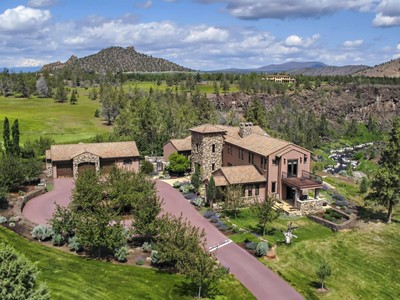 Nhà ở một gia đình for sales at Ranch at the Canyons Custom Home overlooking Crooked River 10650 NE Canyons Ranch Terrebonne, Oregon 97760 Hoa Kỳ