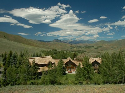 Ferme / Ranch / Plantation for sales at Juniper Springs Ranch 600 Juniper Road  Sun Valley, Idaho 83353 États-Unis