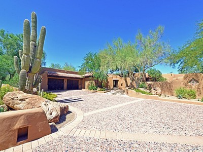 Einfamilienhaus for sales at Authentic Territorial Design 6517 N 46th ST  Paradise Valley, Arizona 85253 Vereinigte Staaten
