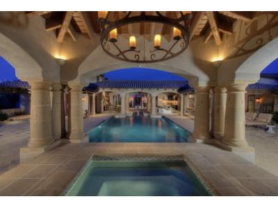 Casa Unifamiliar for sales at Timeless Elegant Whisper Rock Estate 8661 E Whisper Rock Trail  Scottsdale, Arizona 85266 Estados Unidos