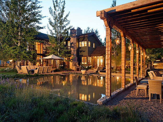 Maison unifamiliale for sales at Serenity in Woody Creek 250 Running Mare Road   Woody Creek, Colorado 81656 États-Unis
