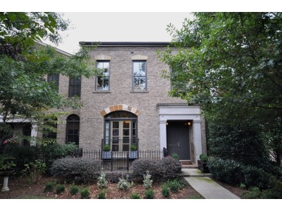 Townhouse for sales at Buckhead Brownstone 3601 Habersham Road NW Atlanta, Georgia 30305 United States