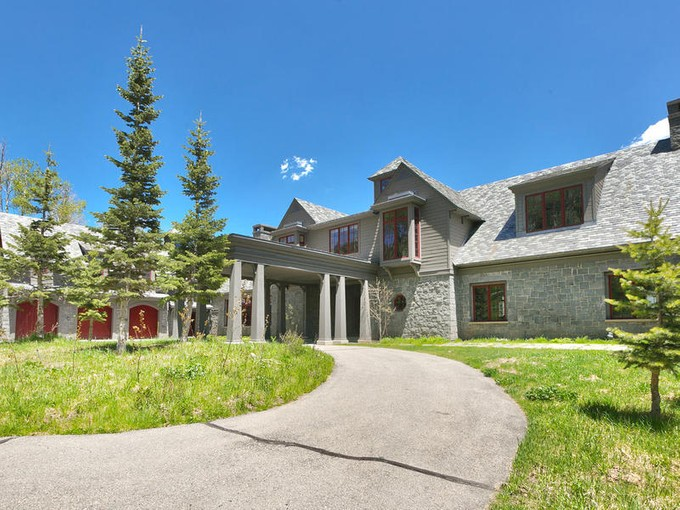 Maison unifamiliale for sales at Colony Masterpiece off of the Another World ski run 66 White Pine Canyon Rd Park City, Utah 84098 États-Unis