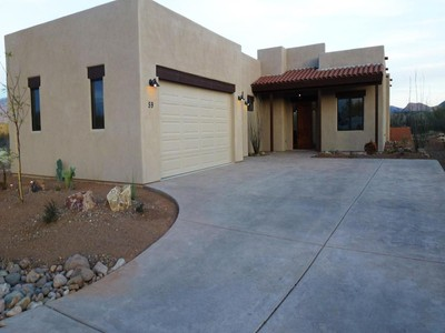 Maison unifamiliale for sales at Beautiful Southwestern Home with Mountain and Golf Views 59 Burruel Street  Tubac, Arizona 85646 États-Unis