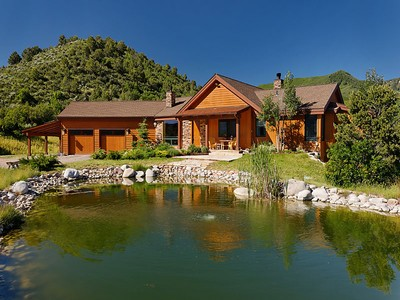 Single Family Home for sales at Ranch Style Home in Emma 1434 Hooks Spur Road Basalt, Colorado 81621 United States
