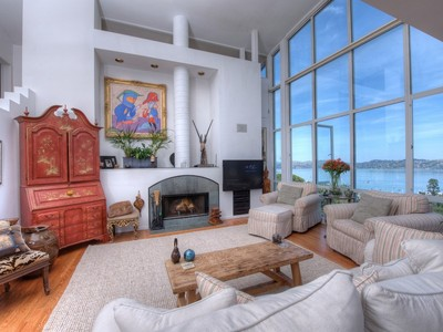 Vivienda unifamiliar for sales at Spectacular Hidden Sausalito Gem 40 Toyon Lane Sausalito, California 94965 Estados Unidos