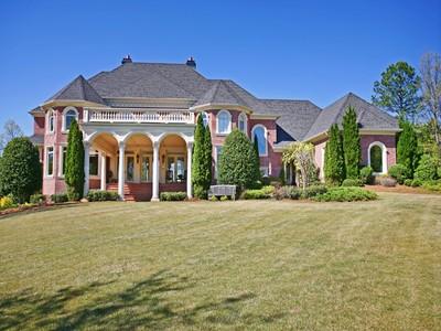 Single Family Home for sales at Southern Plantation Estate 1005 Leadenhall Street Alpharetta, Georgia 30022 United States