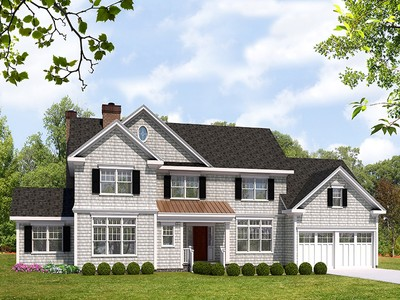 Single Family Home for sales at Elegant Cedar Shingle Colonial 5 Reymont Avenue Rye, New York 10580 United States