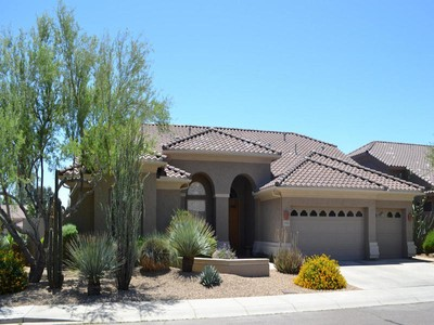 Maison unifamiliale for sales at Wonderful Single Level Scottsdale Home 5125 E Wagoner Rd Scottsdale, Arizona 85254 États-Unis
