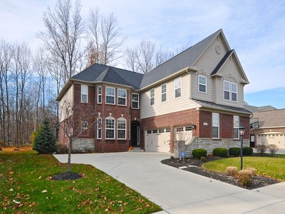 Single Family Home for sales at Brookhaven 2808 Newbury Court Zionsville, Indiana 46077 United States