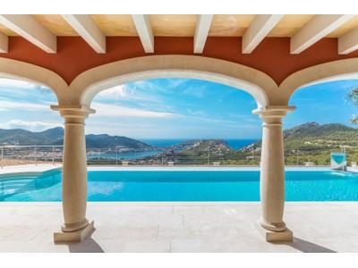 Nhà ở một gia đình for sales at Sea view Mediterranean villa in Port Andratx  Port Andratx, Mallorca 07157 Tây Ban Nha