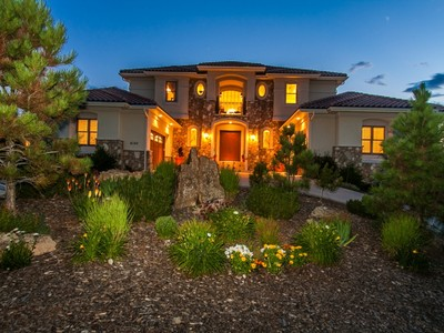 Single Family Home for sales at Castle Pines Village 6164 Massive Peak Loop Castle Rock, Colorado 80108 United States